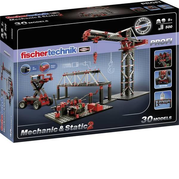 Kit esperimenti e pacchetti di apprendimento - Kit da costruire fischertechnik PROFI Mechanic & Static 2 536622 da 9 anni -