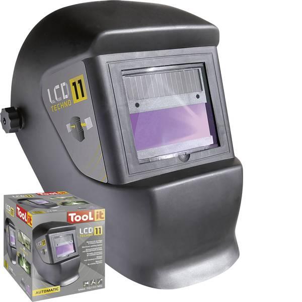 Caschi di protezione - Casco di saldatura Nero Toolit TECHNO 11 042537 EN 175, EN 379 -