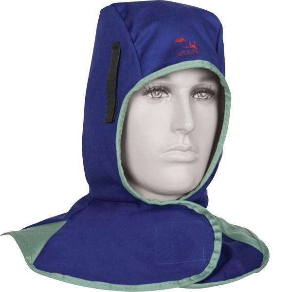 Schermi per la protezione del viso - Toparc 045224 Cappuccio protettivo per saldatura Blu -