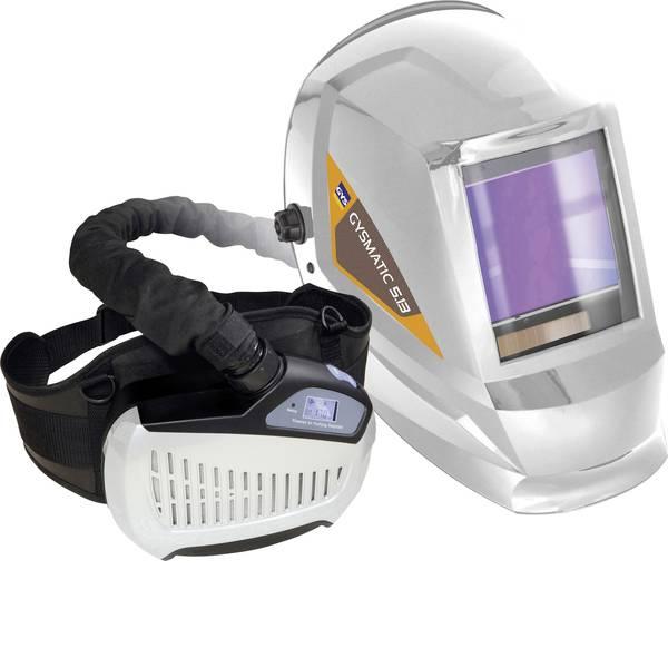 Caschi di protezione - Casco di saldatura con sistema di protezione respiratorio Bianco GYS 5/13 AIR TRUE COLOR XXL 047846 EN 166, EN 175, EN  -
