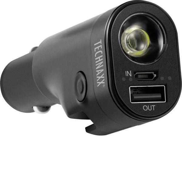 Accessori per presa accendisigari - Technaxx Caricatore per auto con 6 utensili di sicurezza integrato -