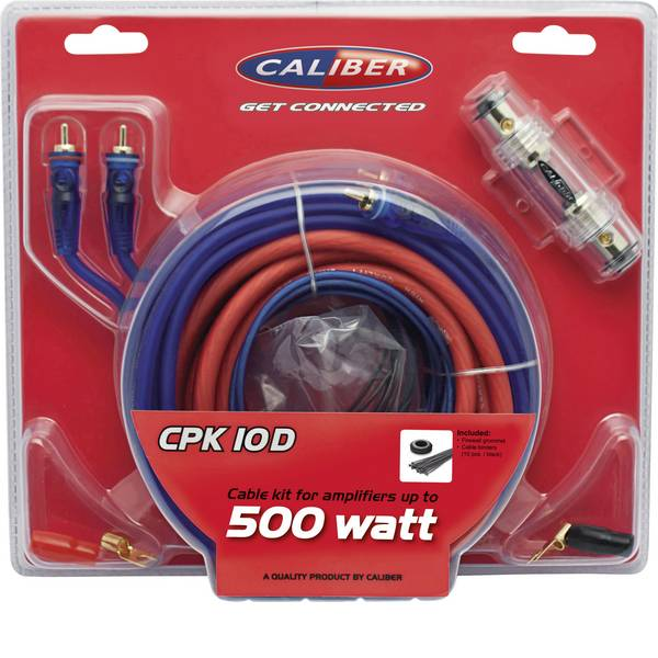 Kit di collegamenti HiFi per auto - Kit di collegamento amplificatore HiFi per auto Caliber Audio Technology CPK10D -