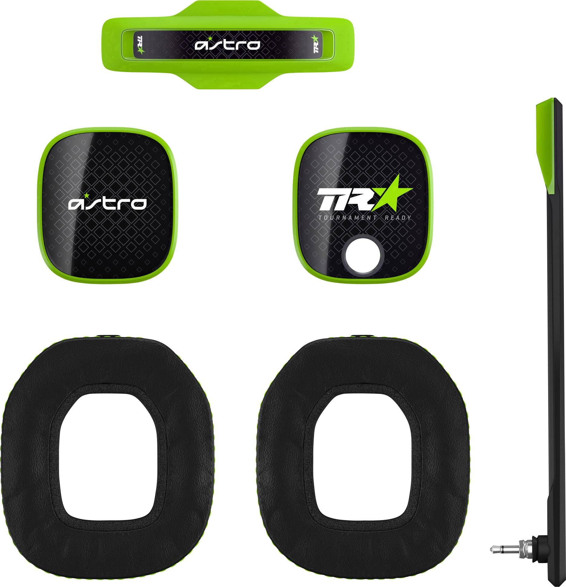 Astro A40TR Mod Kit Green Cuffia Headset per Gaming Mod Kit Verde, Nero