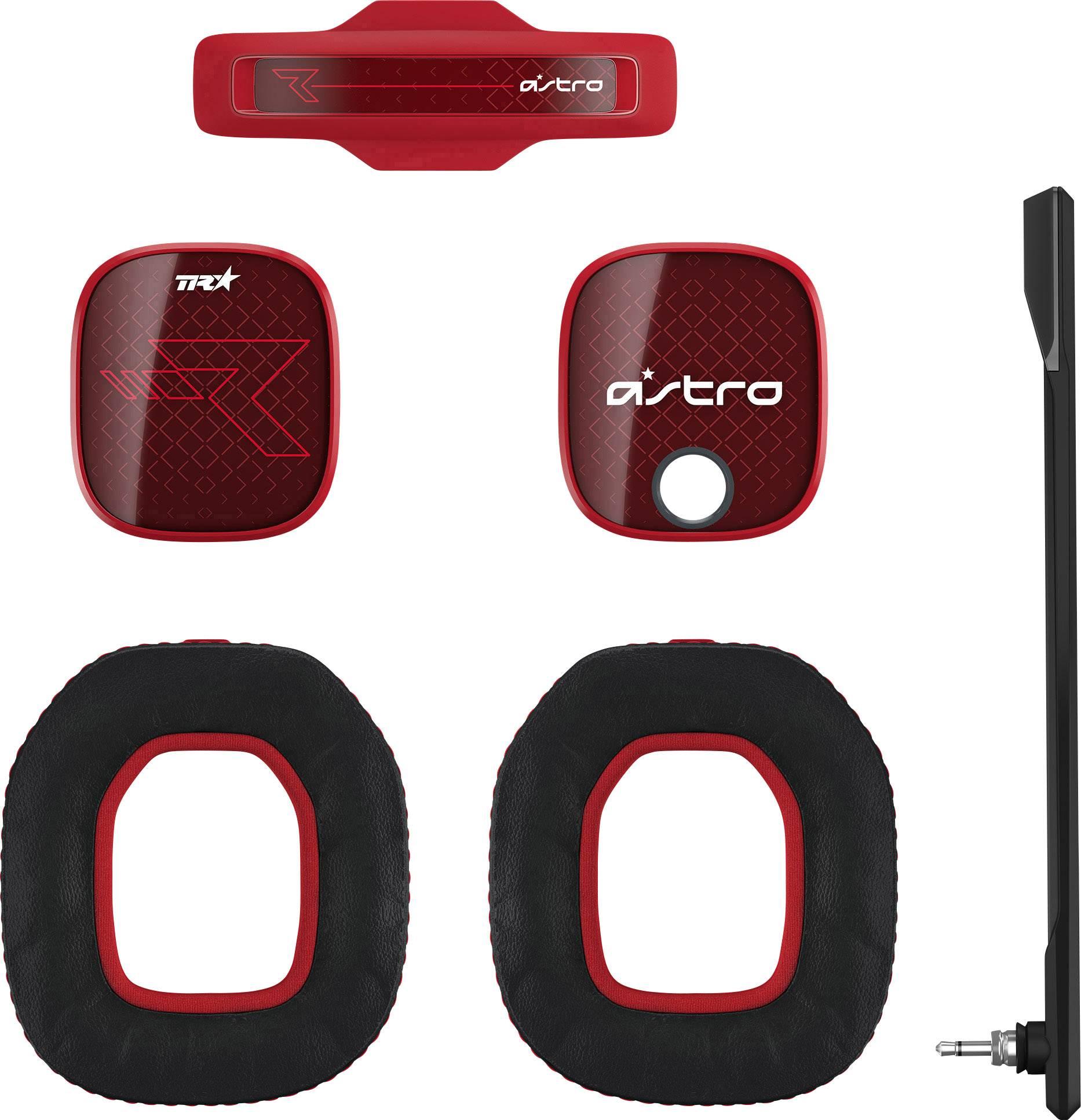 Astro A40TR Mod Kit Red Cuffia Headset per Gaming Mod Kit Rosso, Nero