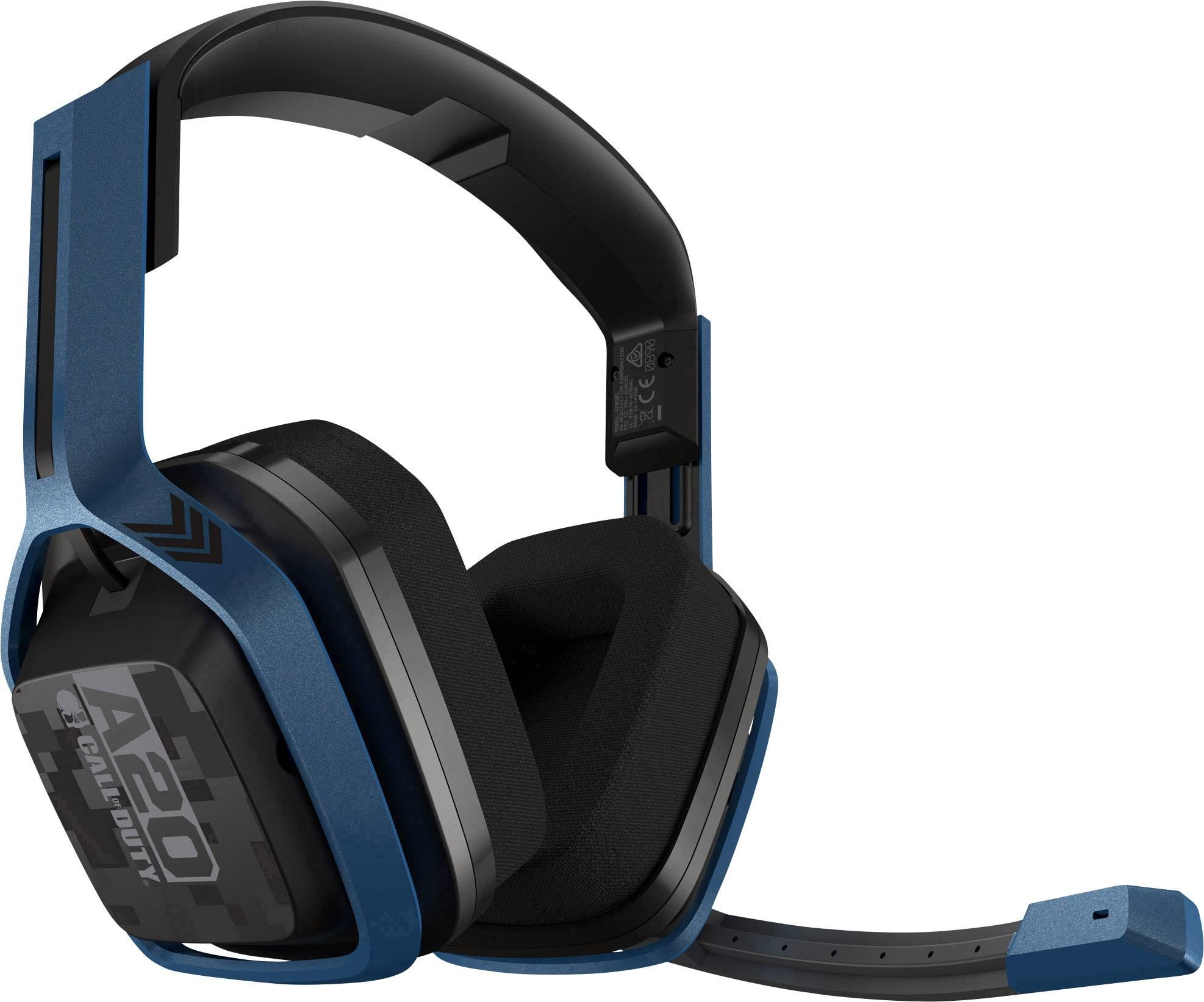 Astro A20 Wireless Call Of Duty Cuffia Headset per Gaming 5 GHz, USB Cuffia Over Ear Navy-Blu