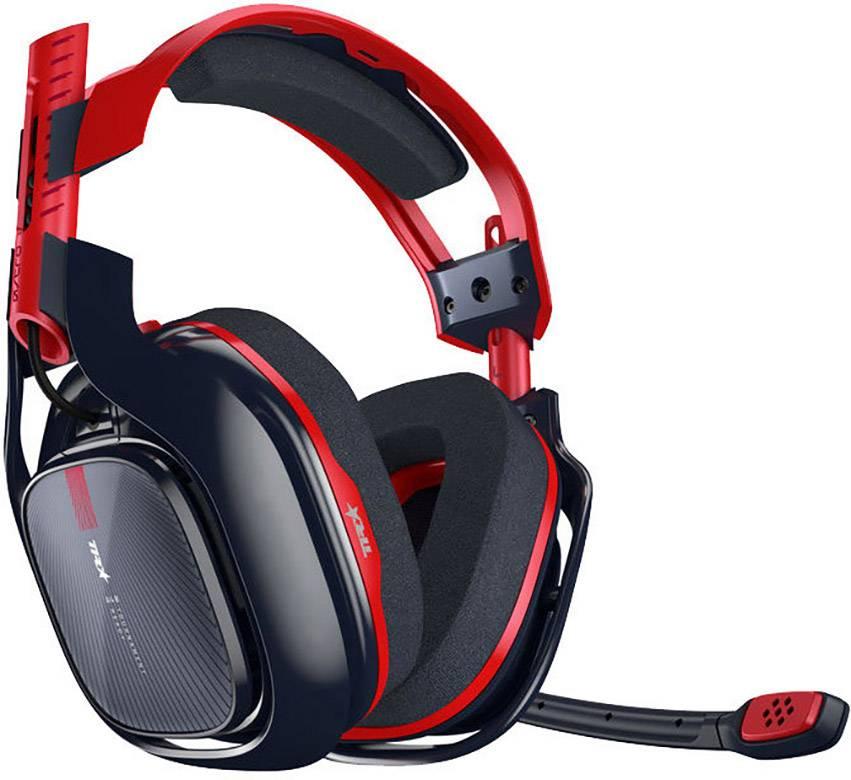 Astro A40TR-X PC/PS4 ANNIVERSARY Cuffia Headset per Gaming Jack 3,5 mm Filo Cuffia Over Ear Rosso, Nero