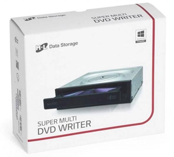 Masterizzatore da incasso DVD HL Data Storage GH24NSD6.ASAR10B Dettaglio SATA Nero