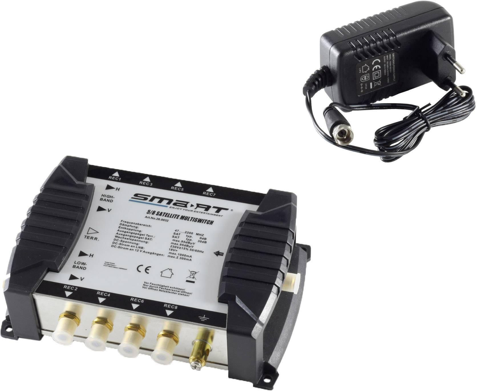Smart MSE58NT SAT multiswitch