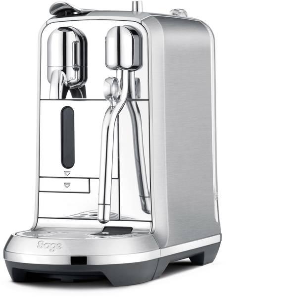 Macchine a capsule Nespresso - Sage The Creatista Plus SNE800BSS4EGE1 Acciaio inox (lucido) Macchina per caffè con capsule Display, Con ugello  -