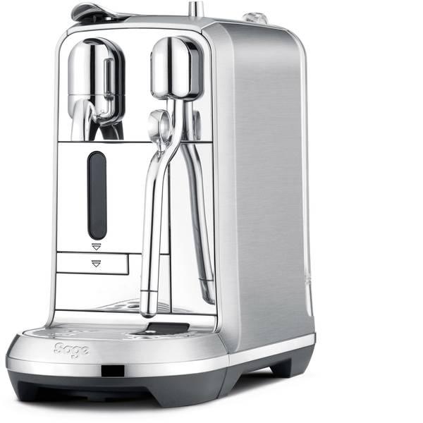 Macchine a capsule Nespresso - Sage The Creatista Plus SNE800BSS4EEU1 Acciaio Macchina per caffè con capsule Display, Con ugello schiumalatte -