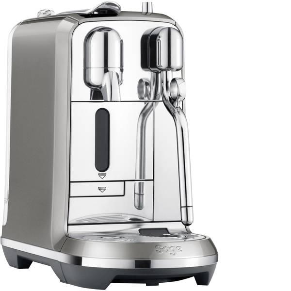 Macchine a capsule Nespresso - Sage The Creatista Plus SNE800SHY2EAT1 Antracite Macchina per caffè con capsule Display, Con ugello schiumalatte -