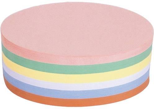Magnetoplan Scheda per presentazioni 111151910 Rosa, Verde, Giallo, Bianco, Blu, Arancione ovale 190 mm x 110 mm 500