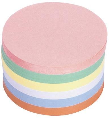 Magnetoplan Scheda per presentazioni 111151710 Rosa, Verde, Giallo, Bianco, Blu, Arancione tondo 140 mm 500 Pz/Conf