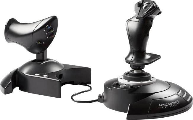 Thrustmaster T.Flight Hotas One - Ace Combat 7 Edition Joystick per simulatore di volo USB Xbox One, PC Nero, Argento