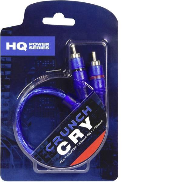 Cavi e connettori RCA HiFi per auto - Cavo RCA a Y 0.25 m Crunch CRY [1x Presa RCA - 2x Spina RCA] -