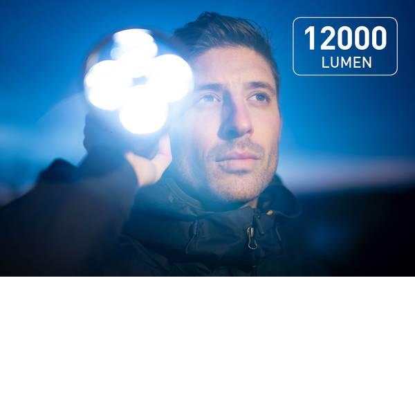 Torce tascabili - Favour Protech T2417 LED Torcia tascabile a batteria ricaricabile 12000 lm 93 h 1318 g -