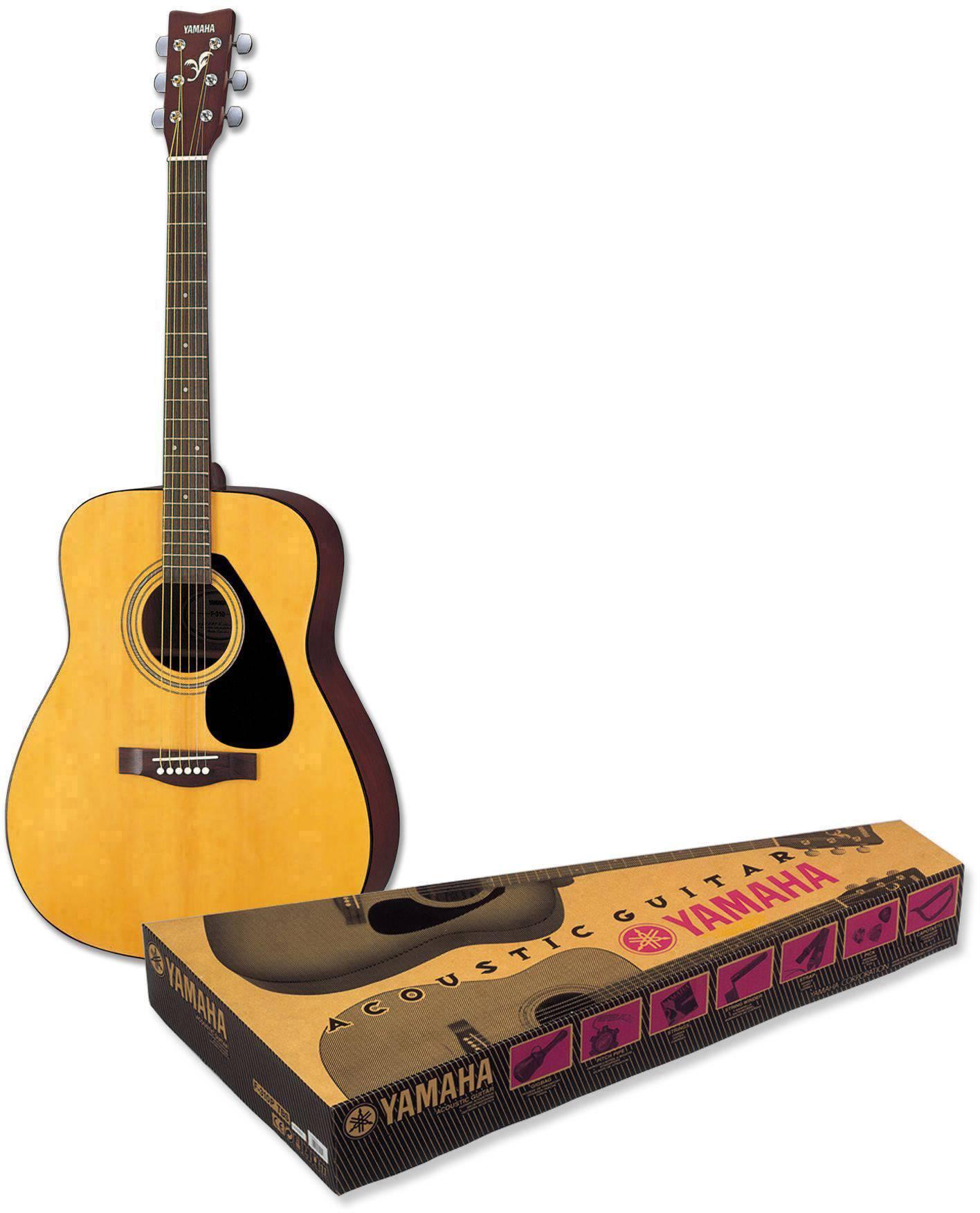 Kit chitarra folk Yamaha F 310P 4/4 Legno Incl. Custodia