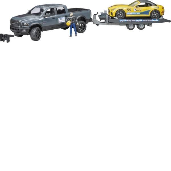 Veicoli senza telecomando - RAM 2500 Power Wagon Bruder Roadster e Team Racing -
