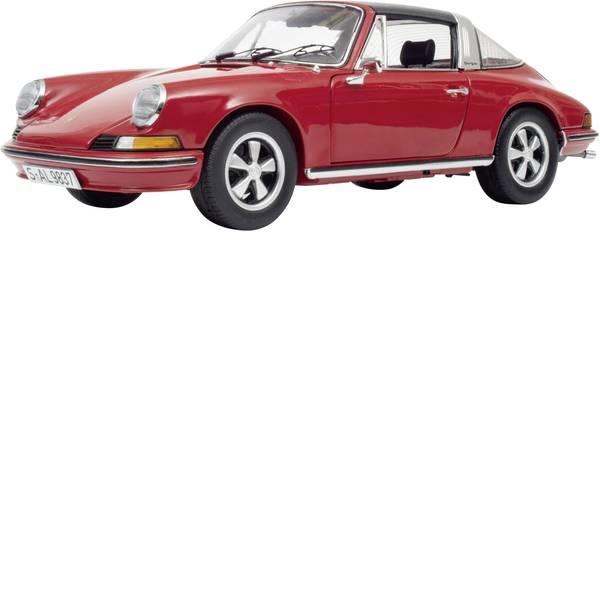 Modellini statici di auto e moto - Schuco Porsche 911 S Targa 1973 1:18 Automodello -