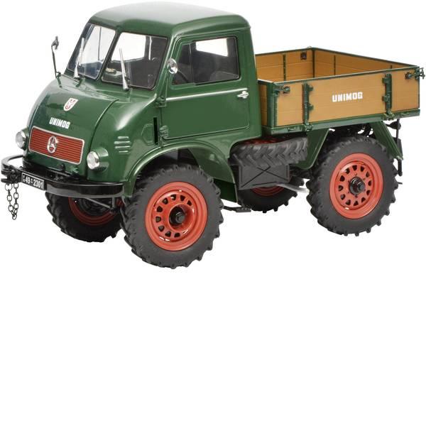 Modellini statici di auto e moto - Schuco Mercedes-Benz Unimog 401 1:18 Camion modello -