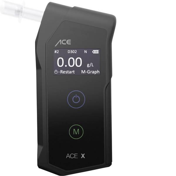 Etilometri - ACE X Etilometro Nero 0.0 fino a 5 ‰ incl. display -