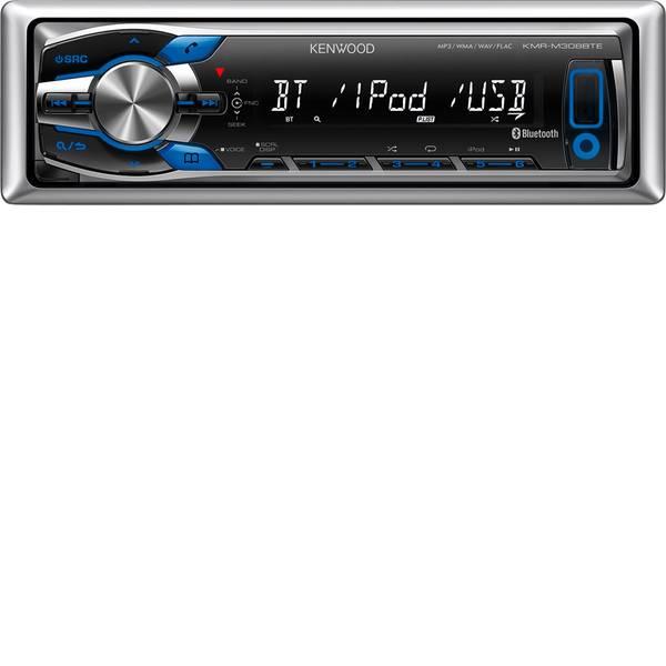 Autoradio e Monitor multimediali - Kenwood KMR-M308BTE Autoradio A prova di spruzzi -