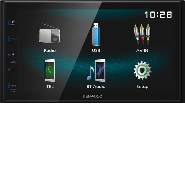 Autoradio e Monitor multimediali - Kenwood DMX-120BT Moniceiver doppio DIN Collegamento per telecamera posteriore -
