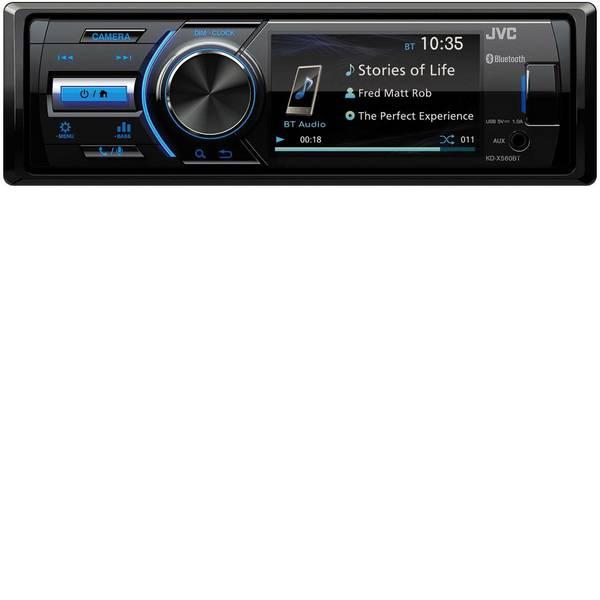 Autoradio e Monitor multimediali - JVC KD-X560BT Autoradio Collegamento per telecamera posteriore, Collegamento per controllo remoto da volante, Vivavoce  -