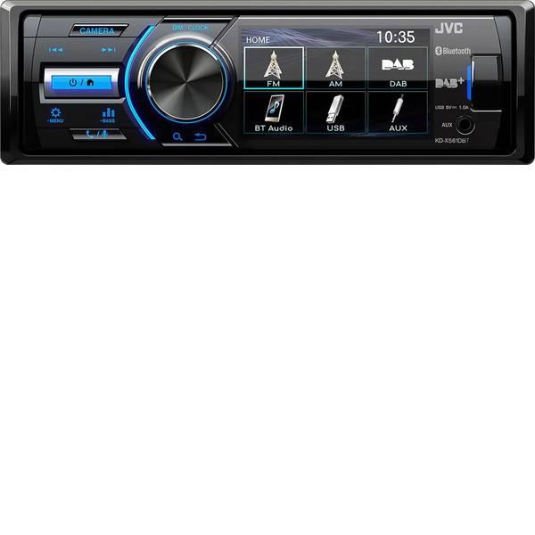 Autoradio e Monitor multimediali - JVC KD-X561DBT Autoradio Collegamento per telecamera posteriore, Collegamento per controllo remoto da volante, Vivavoce  -