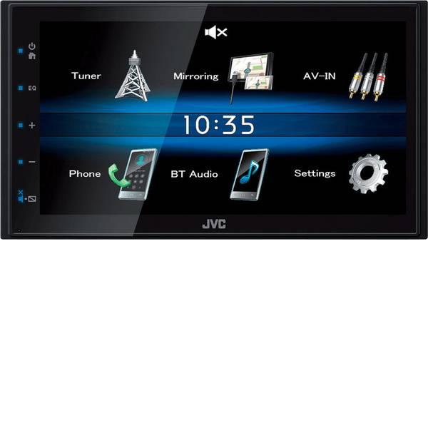 Autoradio e Monitor multimediali - JVC KW-M25BT Moniceiver doppio DIN Collegamento per controllo remoto da volante, Collegamento per telecamera posteriore -