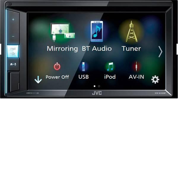 Autoradio e Monitor multimediali - JVC KW-M450BT Moniceiver doppio DIN Vivavoce Bluetooth®, Collegamento per telecamera posteriore, Collegamento per  -