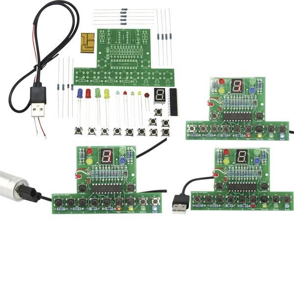 Pacchetti di apprendimento elettrici ed elettronici - MAKERFACTORYKit di memoria TrainYourBrain Trainer -