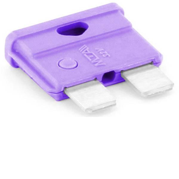 Fusibili per auto - Fusibile piatto standard per auto 3 A Violetto TRU COMPONENTS 8551184 1 pz. -