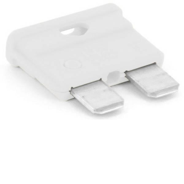 Fusibili per auto - Fusibile piatto standard per auto 25 A Bianco TRU COMPONENTS 8551188 1 pz. -