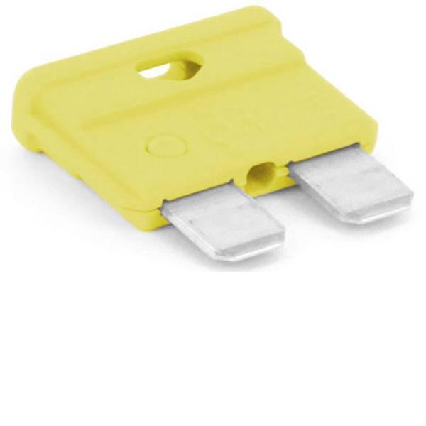 Fusibili per auto - Fusibile piatto standard per auto 20 A Giallo TRU COMPONENTS 8551208 1 pz. -