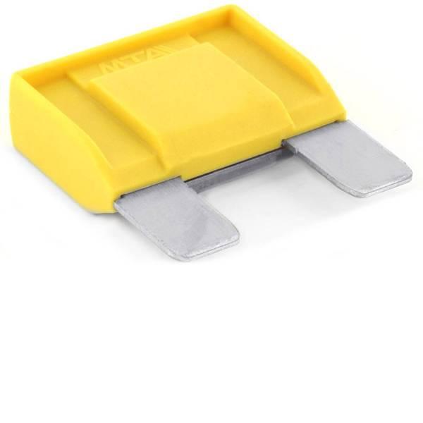 Fusibili per auto - Maxi fusibile piatto 20 A Giallo TRU COMPONENTS 8551228 1 pz. -