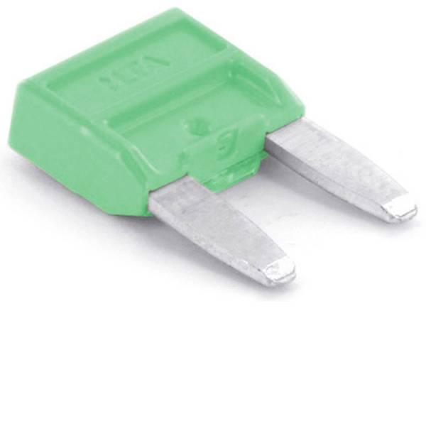 Fusibili per auto - Mini fusibile piatto per auto 30 A Verde chiaro TRU COMPONENTS 8551252 1 pz. -
