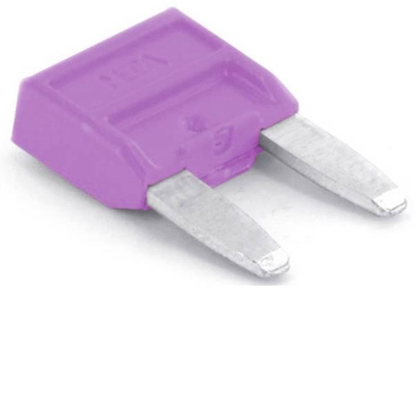 Fusibili per auto - Mini fusibile piatto per auto 3 A Violetto TRU COMPONENTS 8551260 1 pz. -