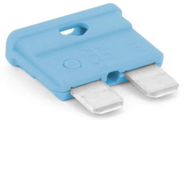 Fusibili per auto - Fusibile piatto standard per auto 15 A Blu chiaro TRU COMPONENTS 8551264 1 pz. -