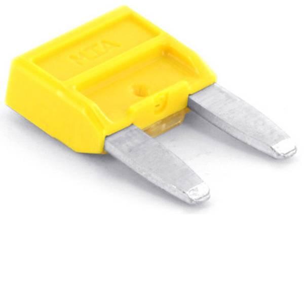 Fusibili per auto - Mini fusibile piatto per auto 20 A Giallo TRU COMPONENTS 8551268 1 pz. -