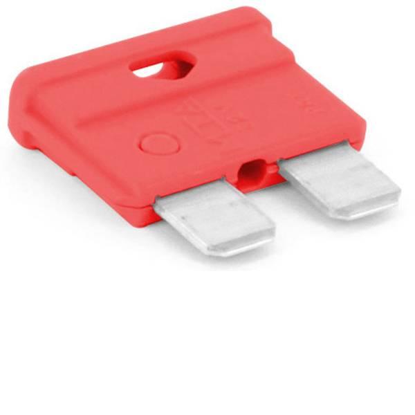 Fusibili per auto - Fusibile piatto standard per auto 10 A Rosso TRU COMPONENTS 8551280 1 pz. -