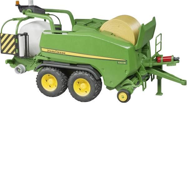 Veicoli agricoli - bruder John Deere Rundballen- Presswickelkombination C441R -