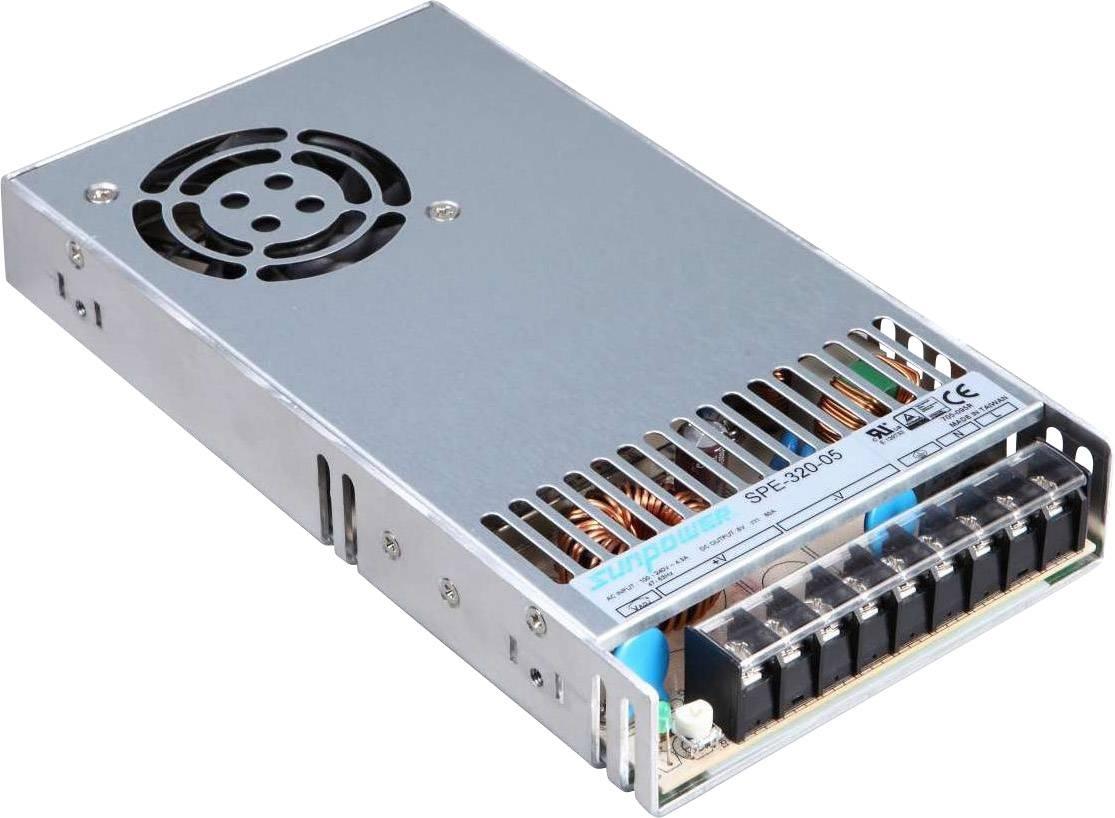 Alimentatore AC / DC Dehner Elektronik SPE 320-48 48 V/DC 6.7 A 320 W stabilizzato