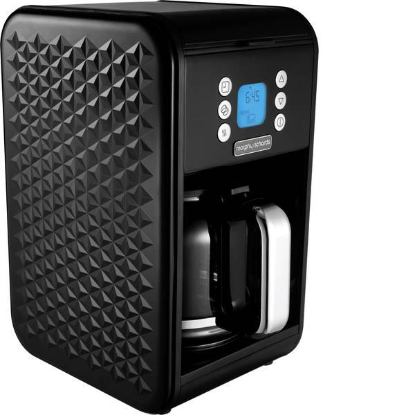 Macchine dal caffè con filtro - Morphy Richards Vector Macchina per il caffè Nero Capacità tazze=12 Caraffa in vetro, Funzione mantenimento calore,  -
