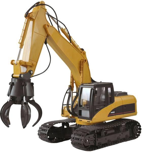 Trattori e mezzi da cantiere RC - Modellino per principianti Amewi 1:14 Veicolo incl. Batteria e cavo di ricarica -