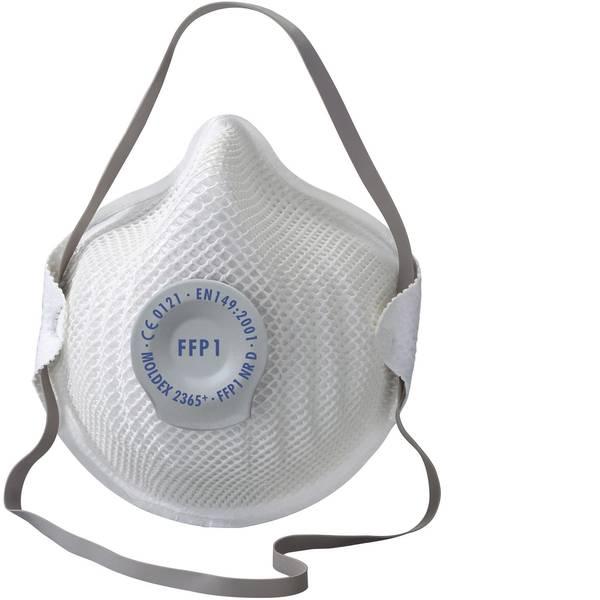 Maschere per polveri fini - Moldex Klassiker 236515 Mascherina antipolvere con valvola FFP1 D 20 pz. -