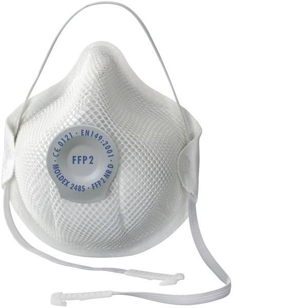 Maschere per polveri fini - Moldex Smart 248501 Mascherina antipolvere senza valvola FFP2 D 20 pz. -