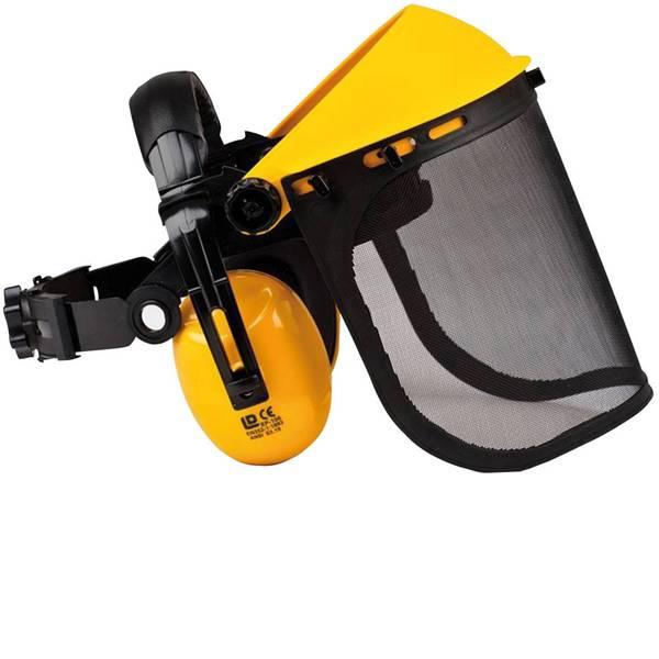 Schermi per la protezione del viso - OREGON Q515061 Visiera a rete Giallo, Nero -