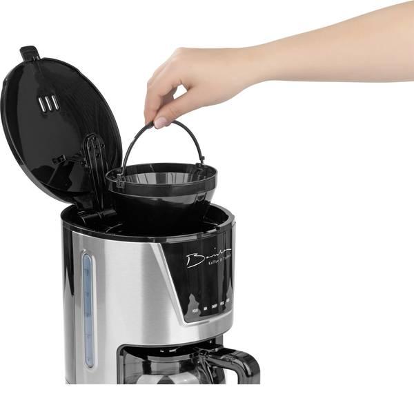 Macchine dal caffè con filtro - GourmetMaxx Barista 1160 Macchina per il caffè Acciaio Capacità tazze=12 -