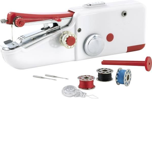 Macchine da cucire - easymaxx Macchina per cucire a mano 2927 Bianco, Rosso -